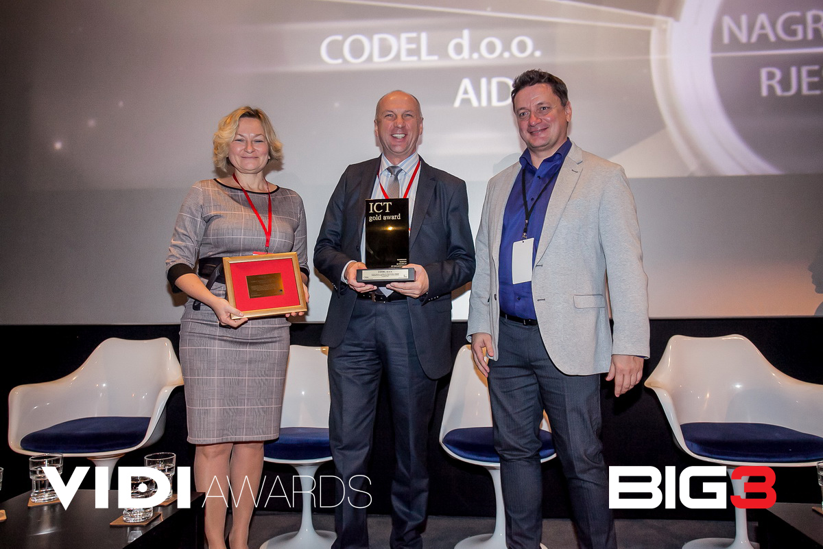 ICT Gold Awards Codel AIDA